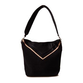 Pieces - Belora - Shopping-Bag - schwarz