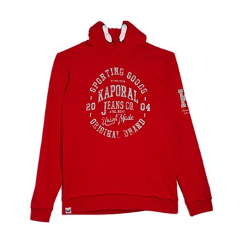 Kaporal - Anoy - Sweat à capuche - rouge