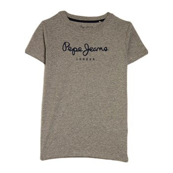 Pepe Jeans London - Art - T-shirt manches courtes - gris