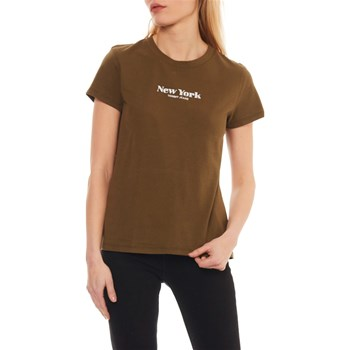 Tommy Jeans - T-shirt manches courtes - olive