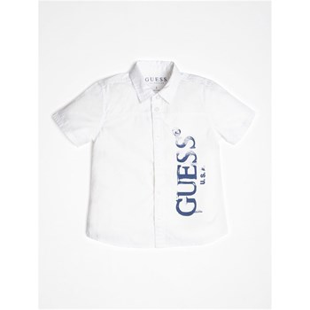 Guess Kids - Chemise manches courtes - blanc