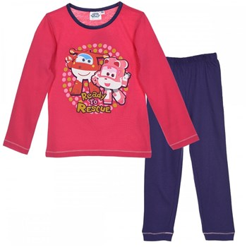 Super Wings - Pyjama - fuchsia