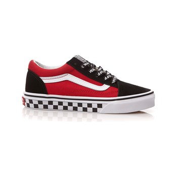 Vans - UY Old Skool - Ledersneakers - rot