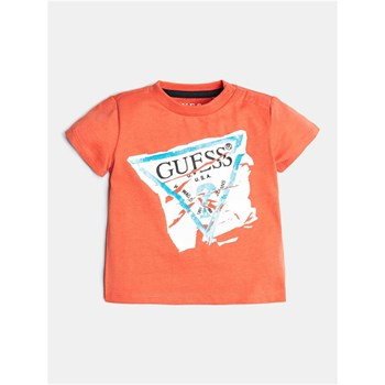 Guess Kids - T-shirt manches courtes - orange