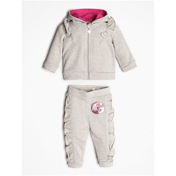 Guess Kids - Ensemble veste et pantalon - gris clair
