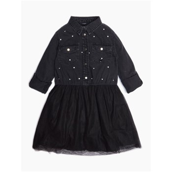 ROBE EN JEAN - NOIR Guess Kids