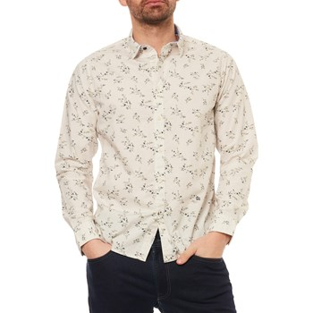 Pepe Jeans London - Dawson - Camicia in lino - bianco