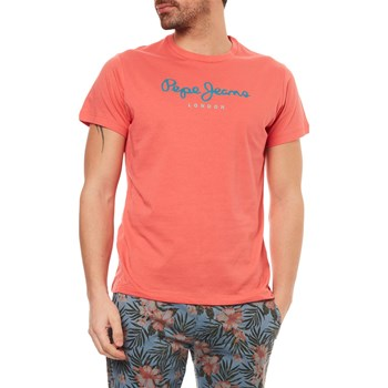 EGGO - T-SHIRT MANCHES COURTES - CORAIL Pepe Jeans London