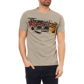 AMERSHAM - T-SHIRT MANCHES COURTES - GRIS Pepe Jeans London
