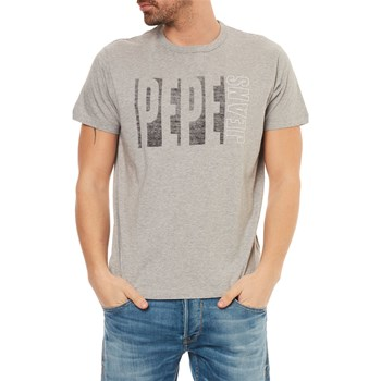Pepe Jeans London - Max - T-shirt manches courtes - gris chine