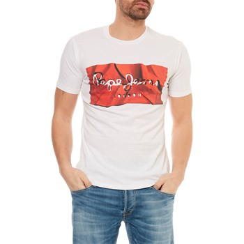 Pepe Jeans London - Raury - T-shirt manches courtes - rouge