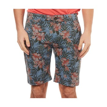 Pepe Jeans London - Mc Queen Short Floral - Bermuda - bleu