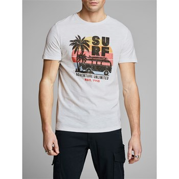 Jack & Jones - Jornewpleo - T-shirt manches courtes - blanc