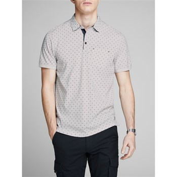 JPRHECTOR - POLO MANCHES COURTES - BLANC Jack & Jones