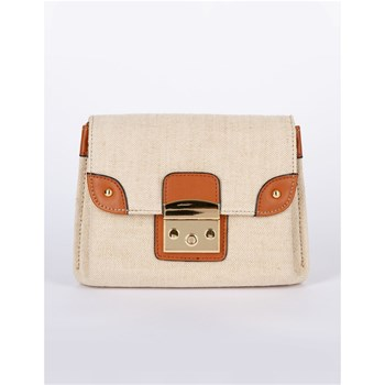 Morgan - Pochette en lin - naturel