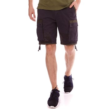 Scotch & Soda - Short cargo - bleu marine