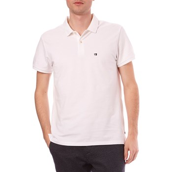 Scotch & Soda - Polo manches courtes - blanc