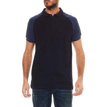 Scotch & Soda - Polo manches courtes - bleu