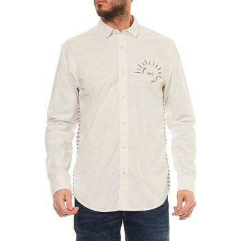 Scotch & Soda - Chemise manches longues - blanc