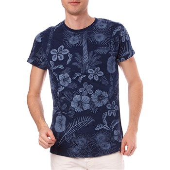 Scotch & Soda - T-shirt manches courtes - bleu marine