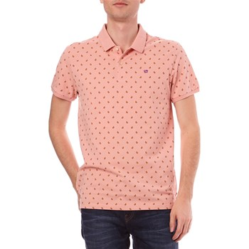 Scotch & Soda - Polo manches courtes - rose clair