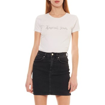 Kaporal - Busy - T-shirt manches courtes - blanc