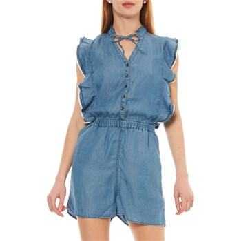 FROM - COMBI-SHORT - BLEU JEAN Kaporal