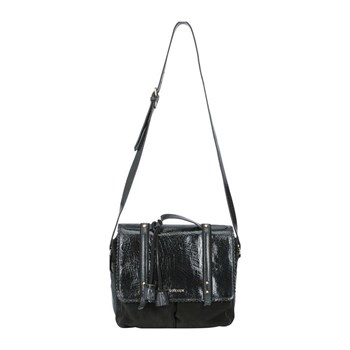 Lollipops - Claudine - Sac cartable en cuir - noir