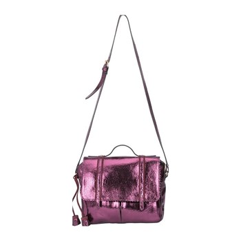 Lollipops - Claudine - Sac cartable en cuir - violet