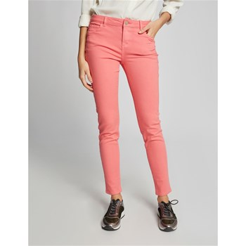 PETRA - PANTALON 5 POCHES SKINNY - ROSE Morgan