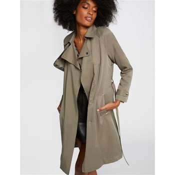 Morgan - Light - Trench fluide - olive