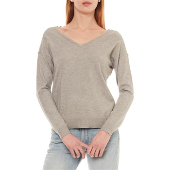 Vero Moda - Happy - Pull - gris clair