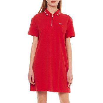 ROBE T-SHIRT - ROUGE Tommy Jeans