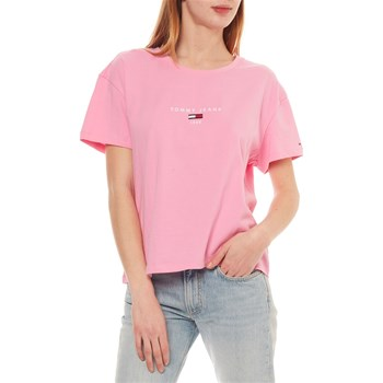 Tommy Jeans - T-shirt manches courtes - rose
