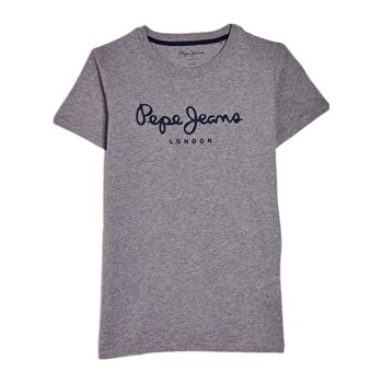 Pepe Jeans London - Art - T-shirt manches courtes - gris chine