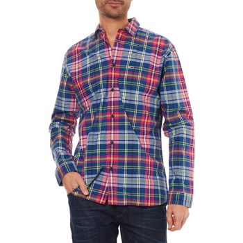 ESSENTIAL - CHEMISE MANCHES LONGUES - FUCHSIA Tommy Jeans