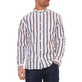 CHEMISE MANCHES LONGUES - BLANC Tommy Jeans
