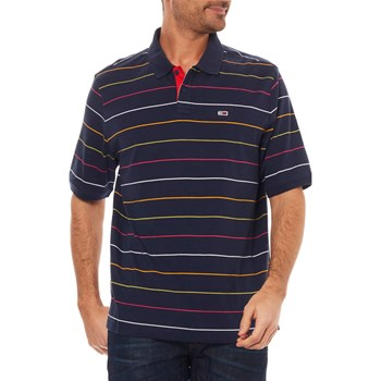 Tommy Jeans - Polo manches courtes - bleu marine