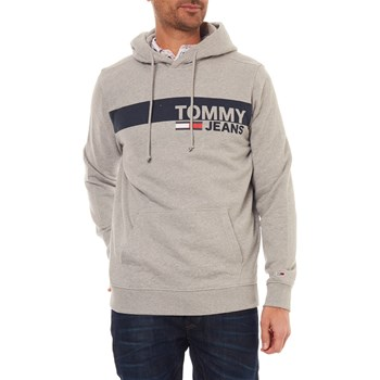 SWEAT À CAPUCHE - GRIS Tommy Jeans