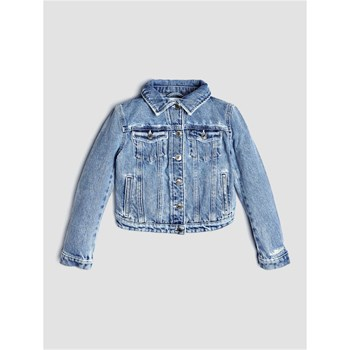 Guess Kids - Veste denim imprimé - bleu