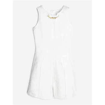 Guess Kids - Combi-short en dentelle - blanc