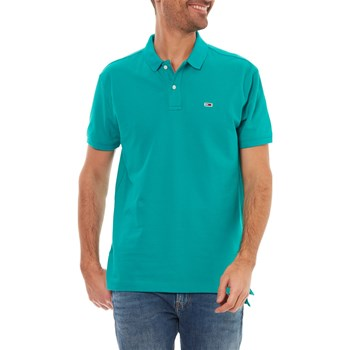 Tommy Jeans - Polo manches courtes - vert
