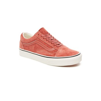 Vans - Old Skool - Baskets en cuir - rose indien