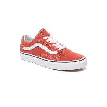 Vans - Old Skool - Baskets en cuir - orange