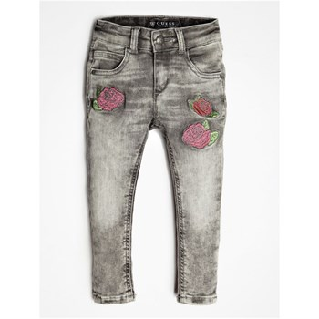Guess Kids - Jean denim imprimé - gris