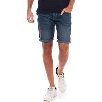 Celio - No first - Short denim bermuda - bleu jean