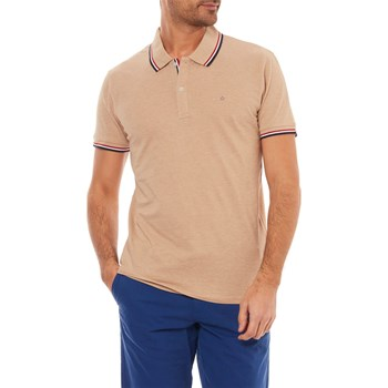 NECETWO - POLO MANCHES COURTES - BEIGE Celio