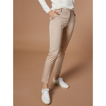 Cyrillus - Pantalon coupe cigarette - sable