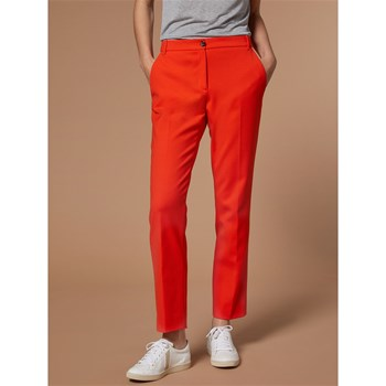 Cyrillus - Pantalon coupe cigarette - orange