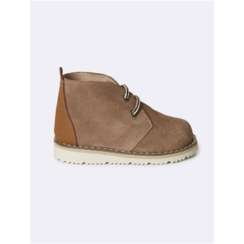 Cyrillus - Boots en cuir - taupe